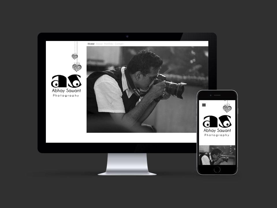 Abhay Sawant - Responsive Single Page Website Design
